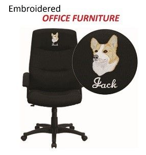 Custom Embroidered Furniture