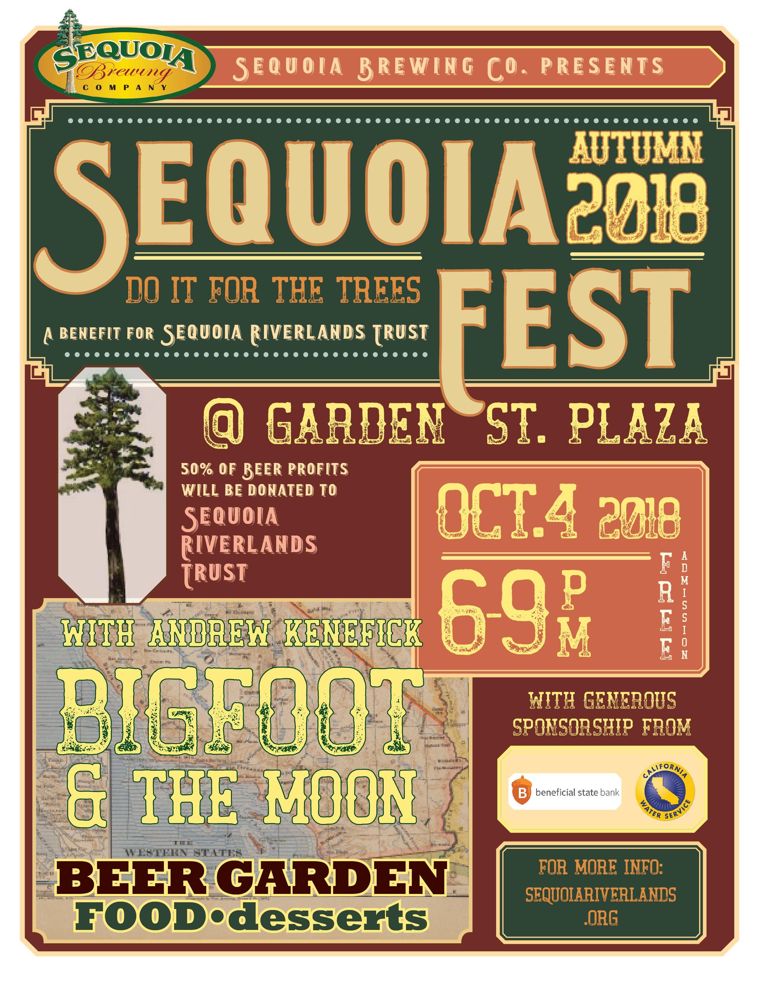 SequoiaFest is back on October 4