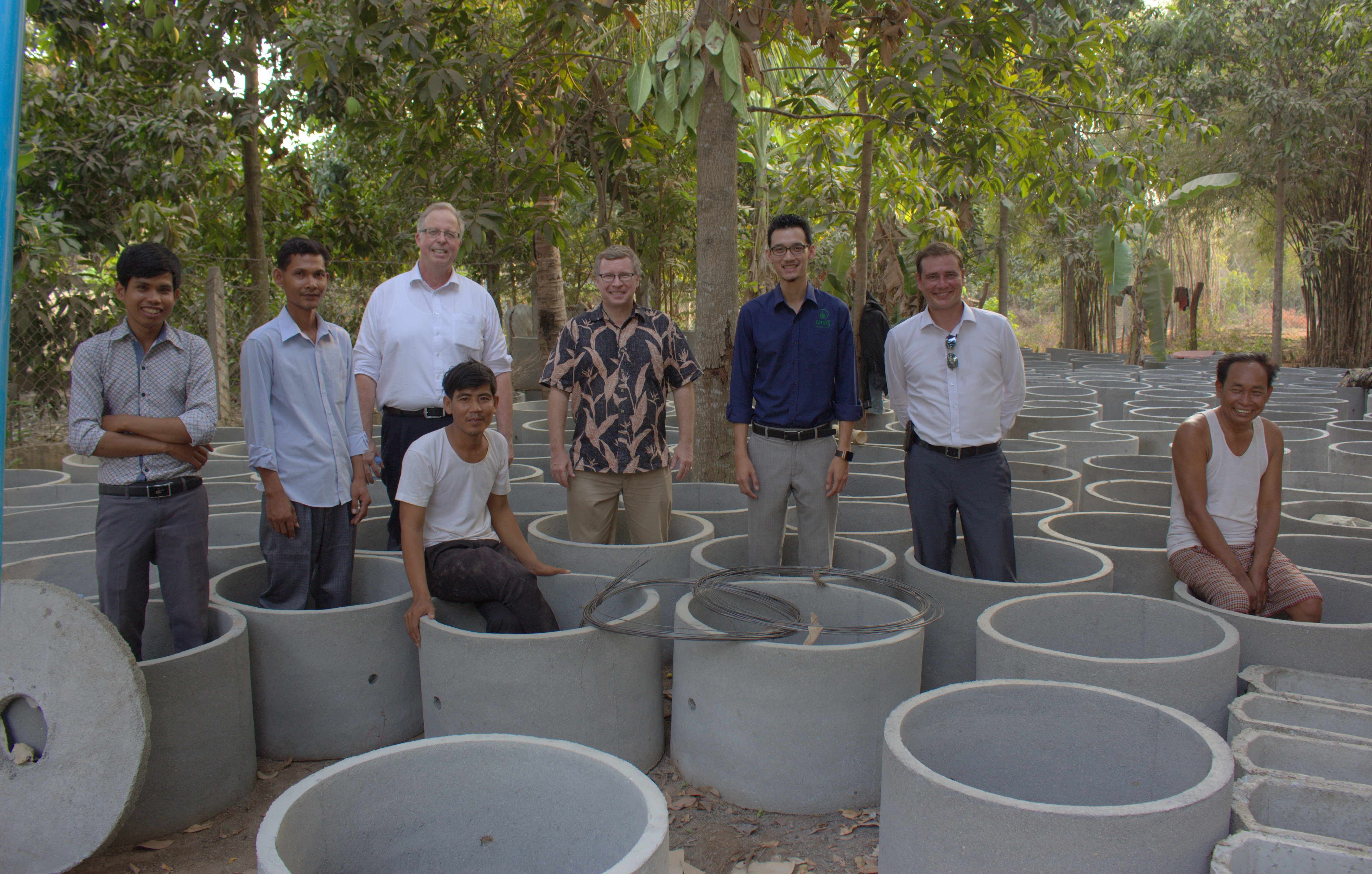 Canadian Ambassador to Cambodia Visits iDE Projects