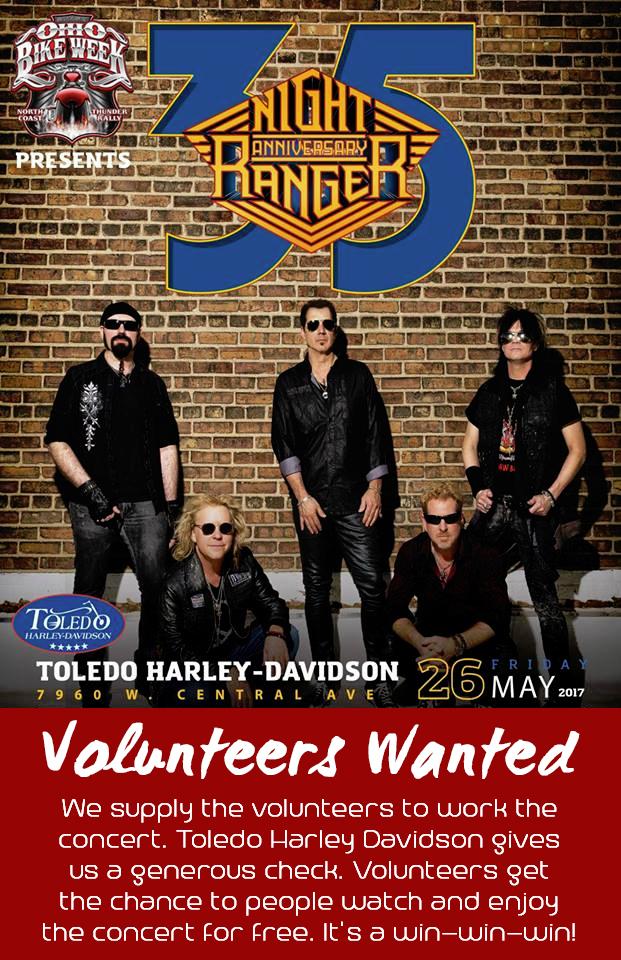 Concert at Toledo Harley Davidson