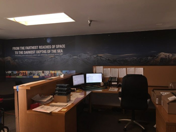 Wall Graphics and Murals for Orange County CA Businesses