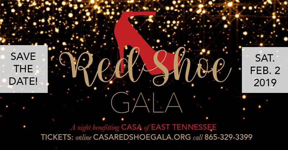 CASA of East Tennessee Red Shoe Gala