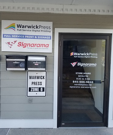 Warwick Press and Signarama - Full Service Print and Signage