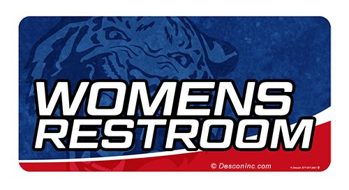 Location Sign: Womens Restroom