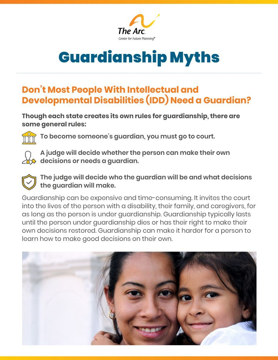 Guardianship Myths
