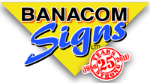 Banacom Signs of Cincinnati, Ohio