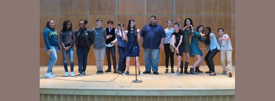 Middle School Poetry Slam