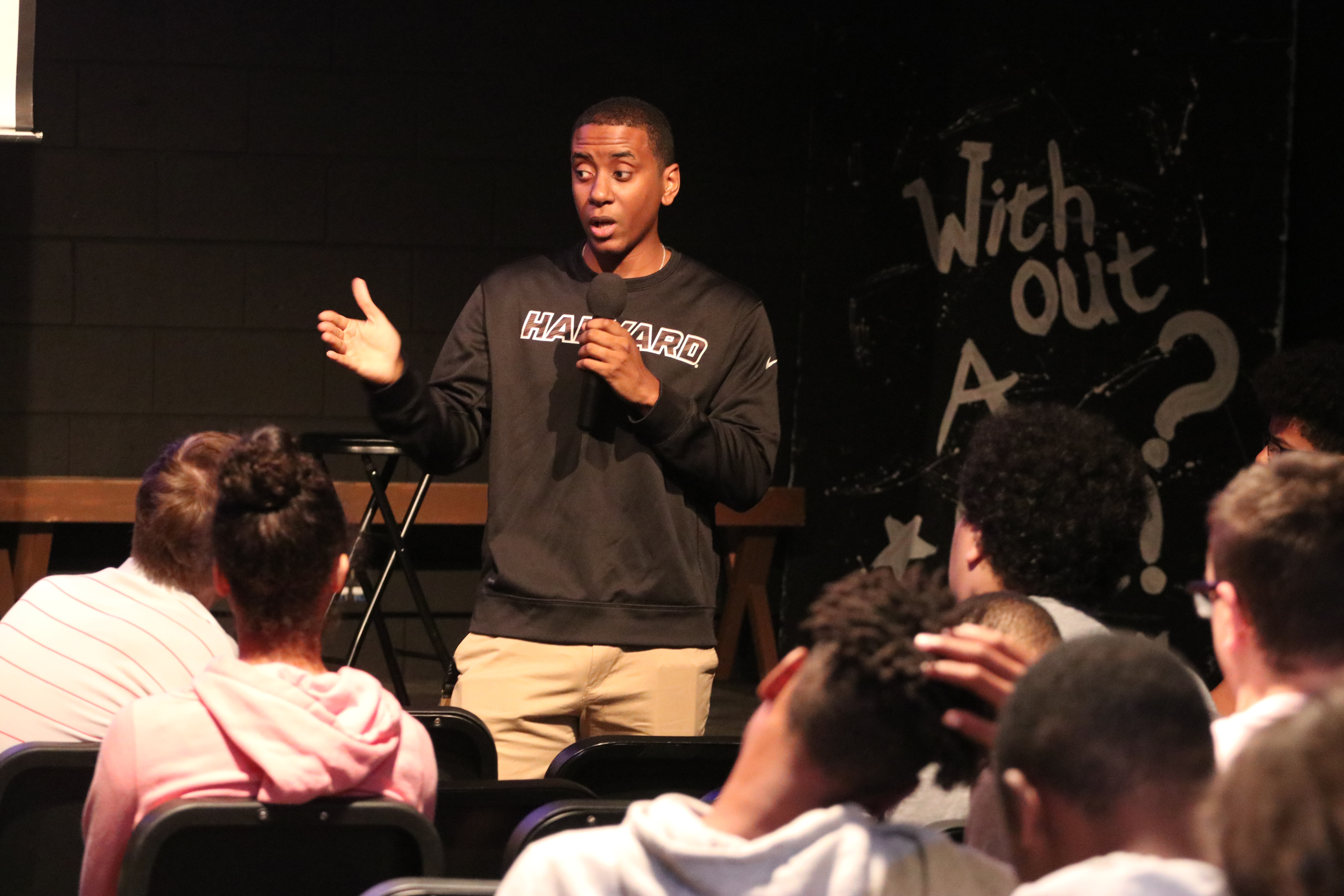 'A New Day One': Scholar's Visit Inspires WAHS, WAMS Students