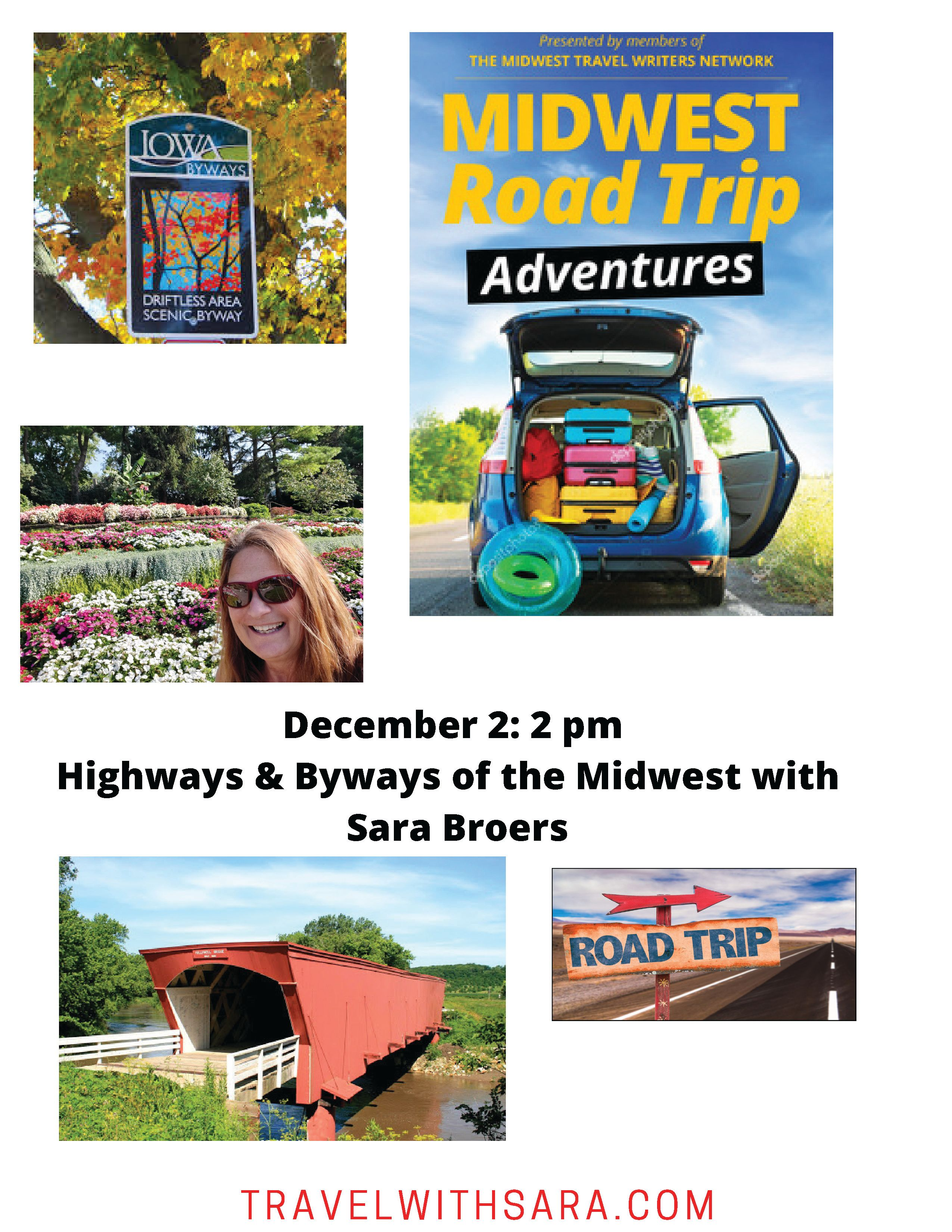 Midwest Travel Adventures with Sara Broers