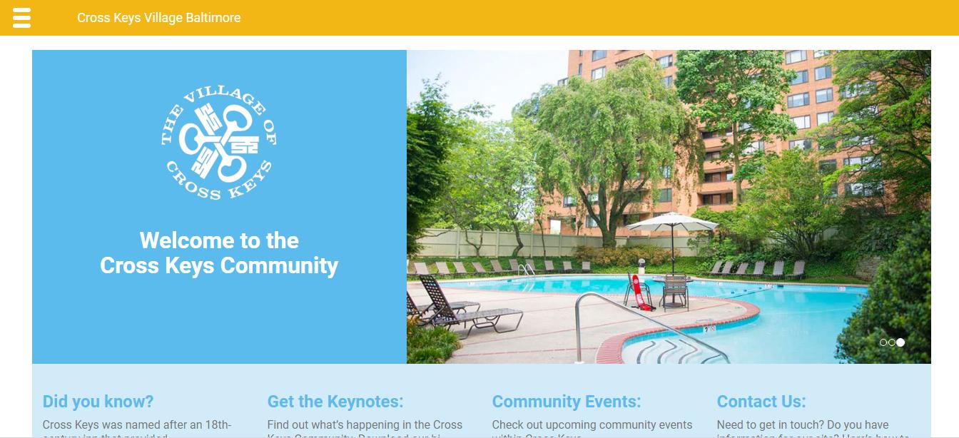 Cross Keys Baltimore: Web Development