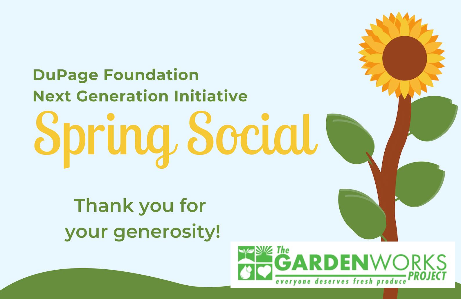 NGI Spring Social Grows Support for GardenWorks