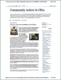 Ohio Association of Community Action Agencies Article