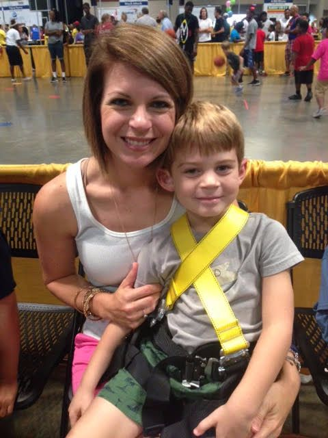 Photo of Elise and her son, Hunter