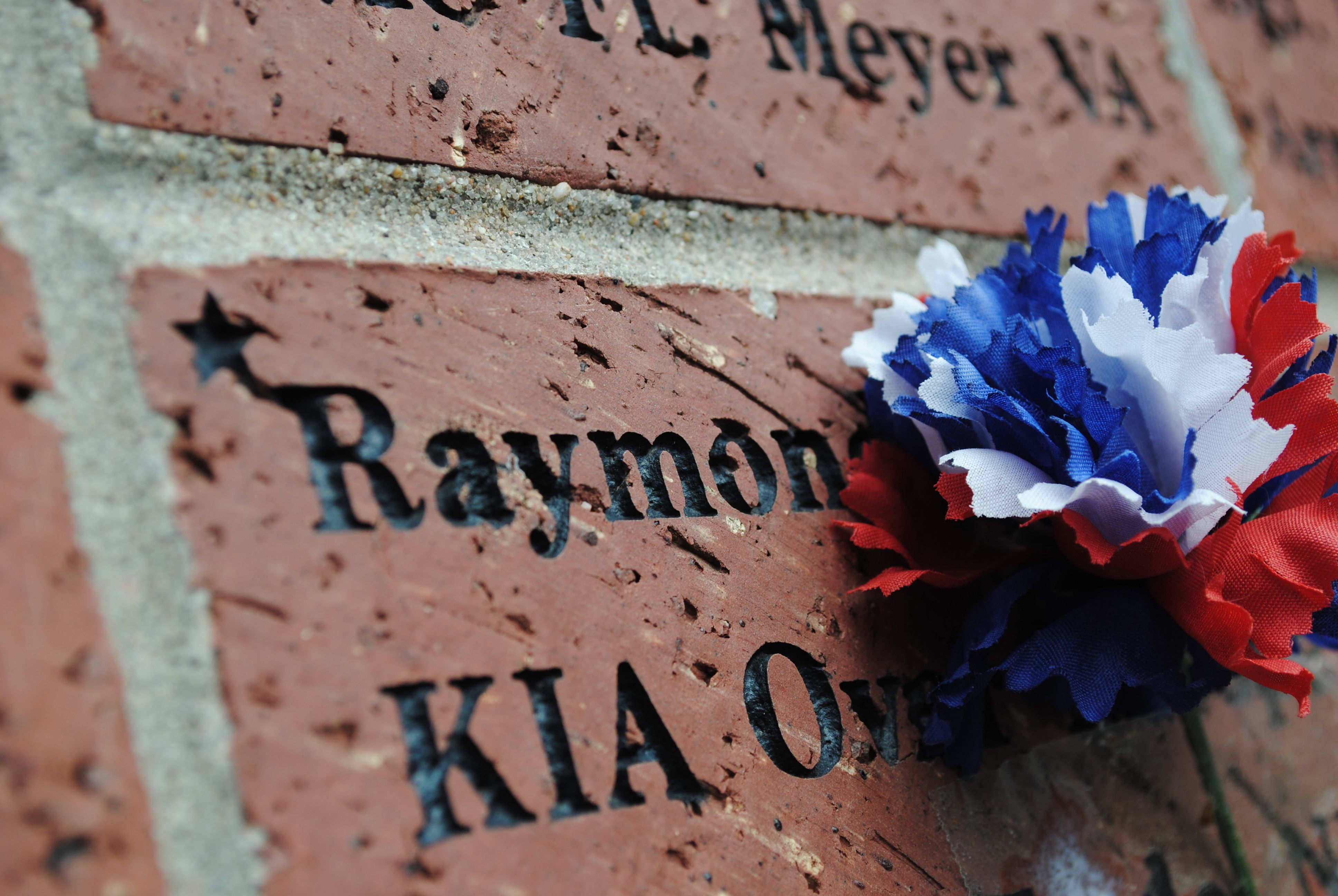 2021 Brick Dedication at Veterans Memorial Garden