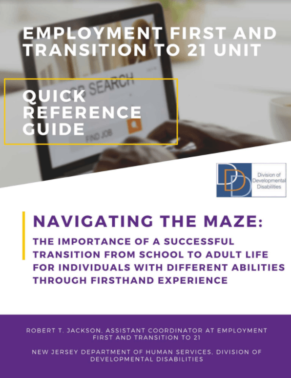 Navigating the maze quick reference guide cover