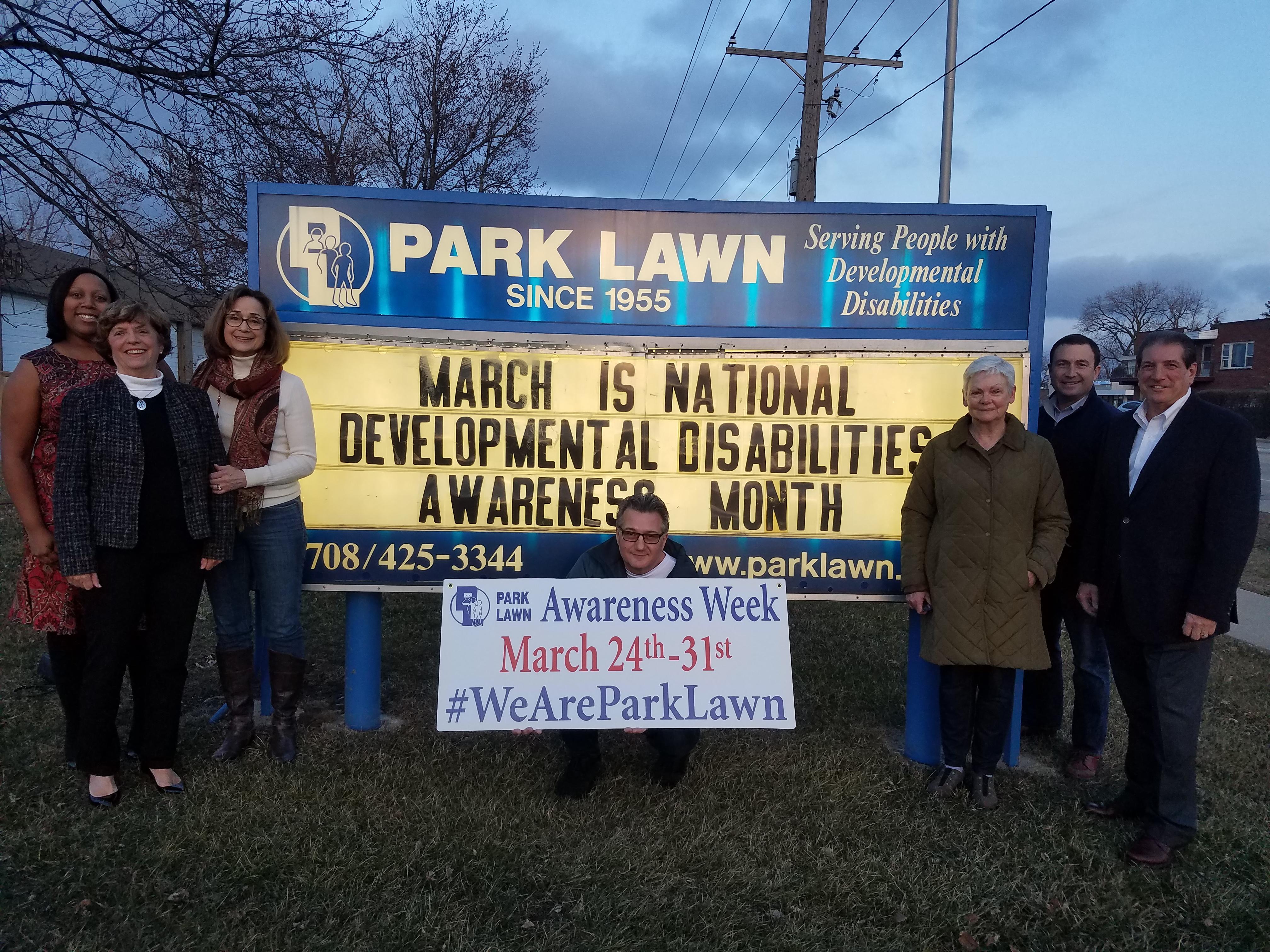 Park Lawn Awareness Week