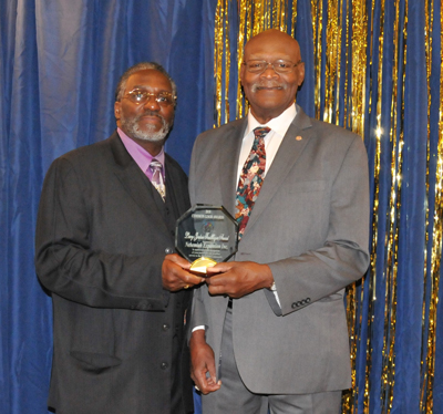 Pastor Silas Johnson and Leroy Jordan