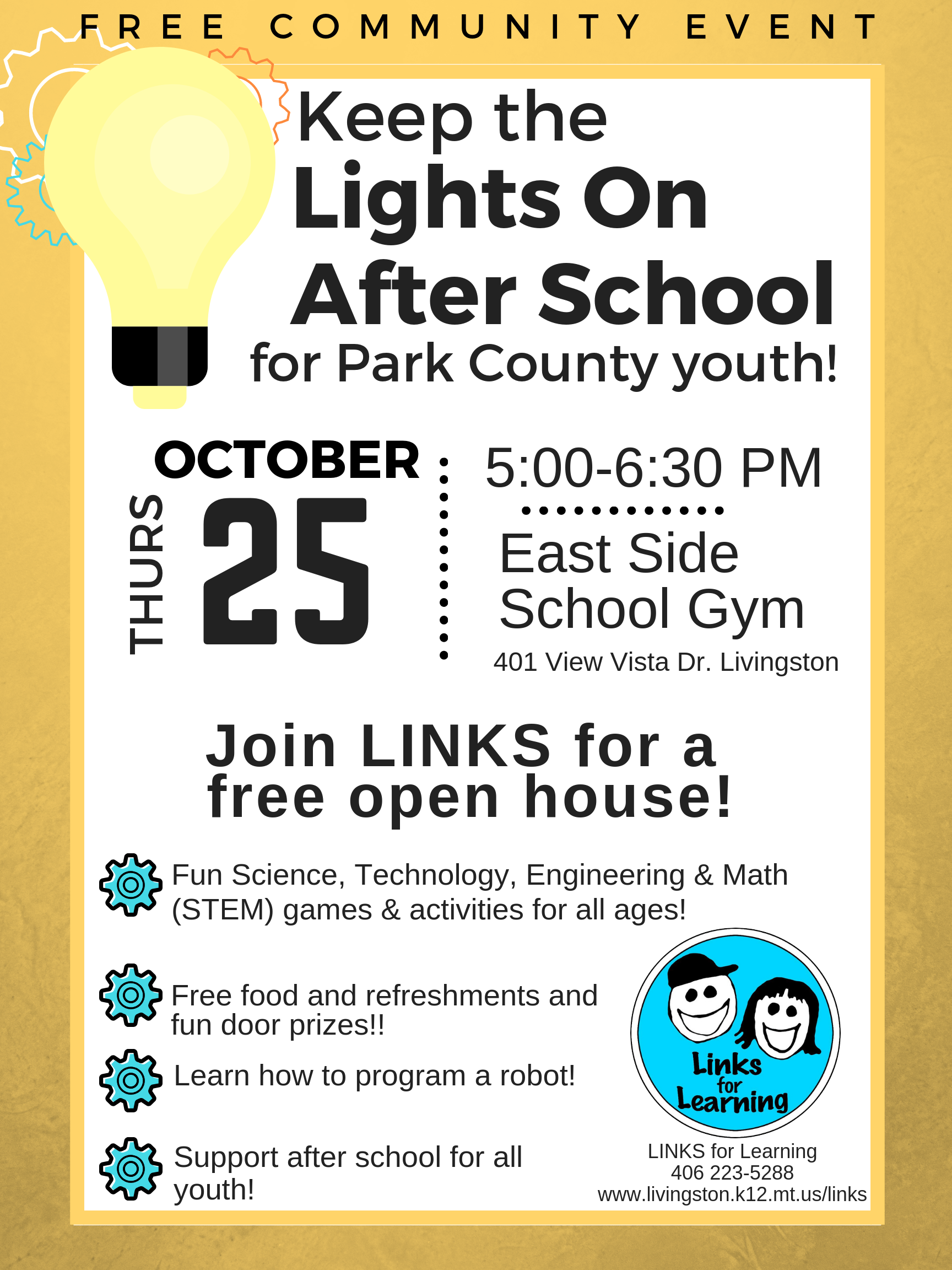 Keep the Lights on STEM Open House