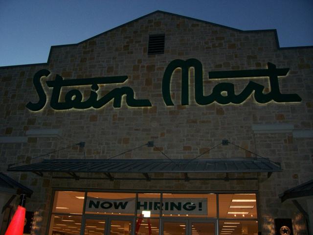 Stein Mart- Installation