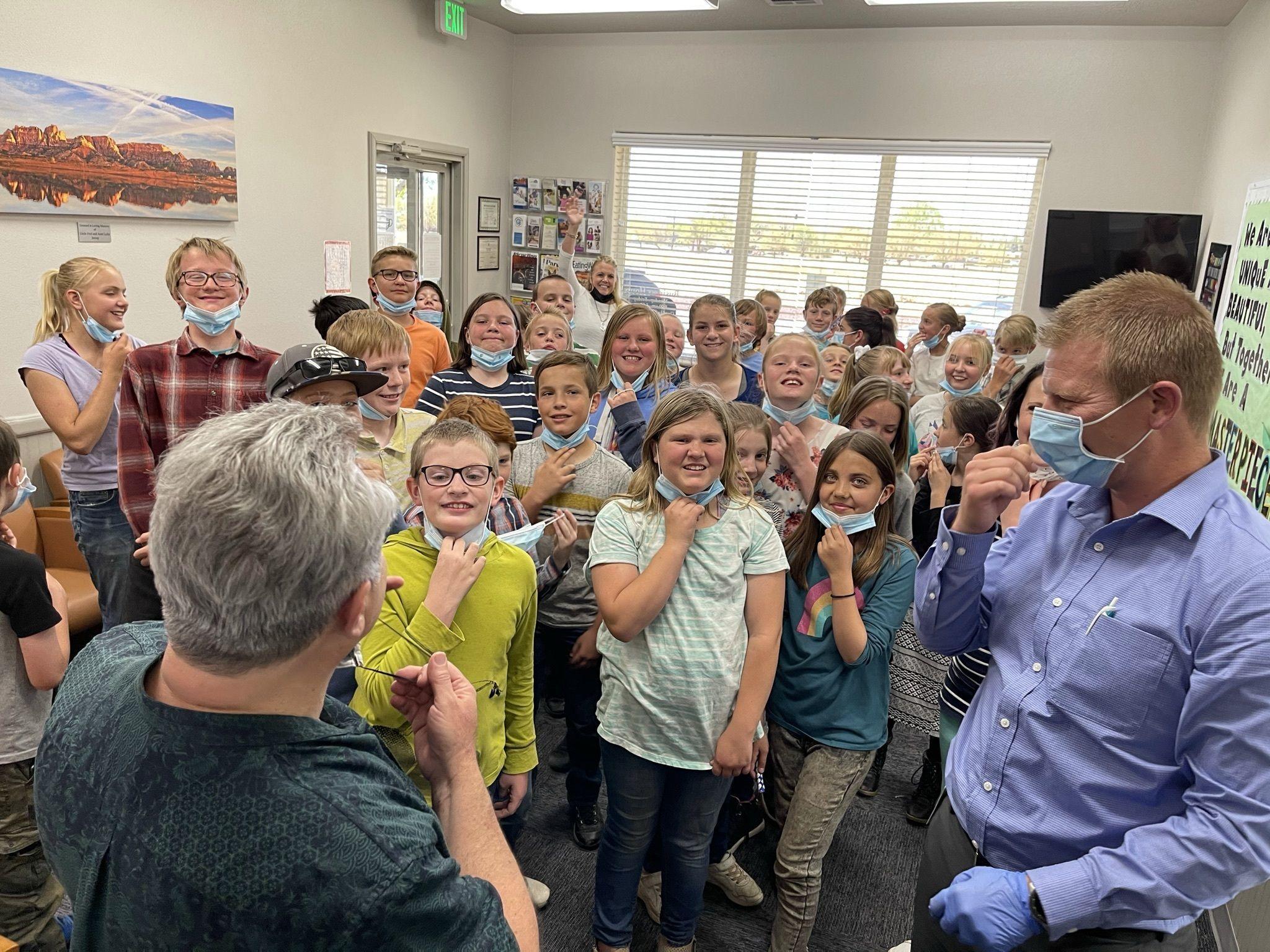 Creek Valley School Visit!