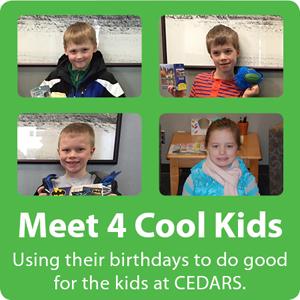 Meet 4 Cool Kids