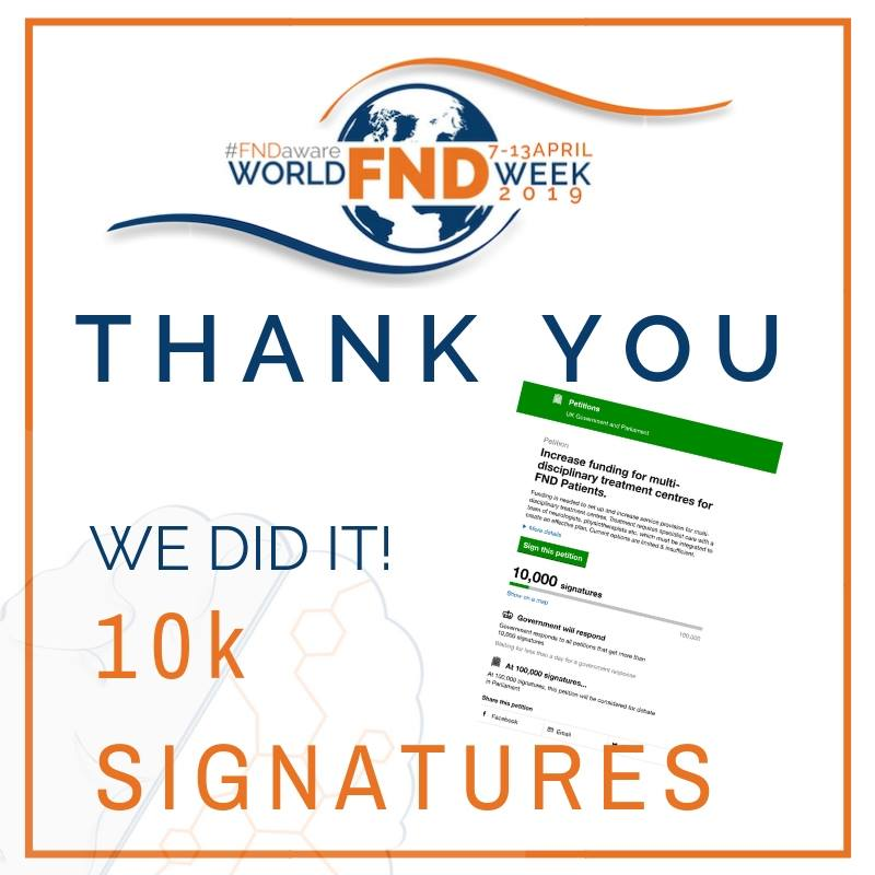 10k signatures for our Government Petition