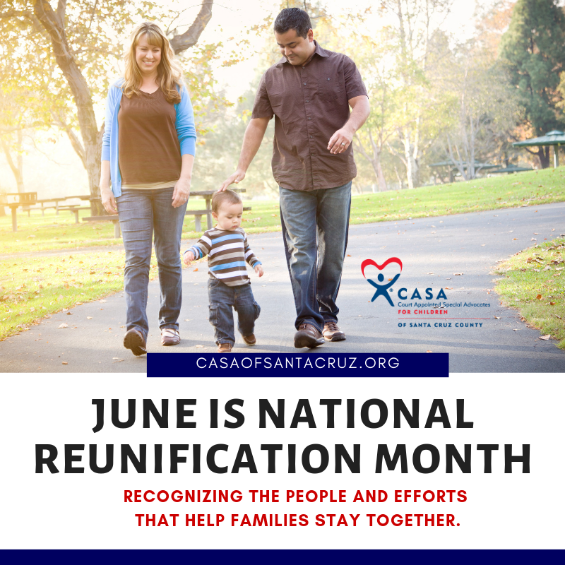 June is National Reunification Month