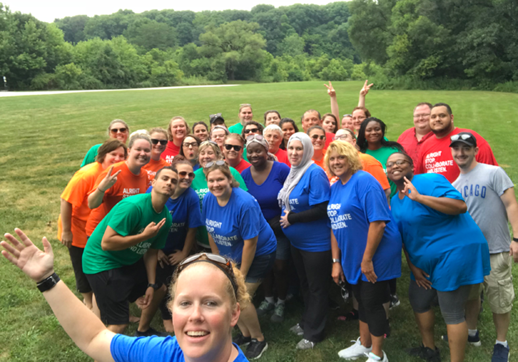 Community Foundation Grant Supports DCS Teambuilding Event