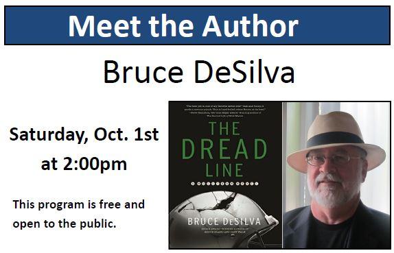 Author Talk: Bruce DeSilva