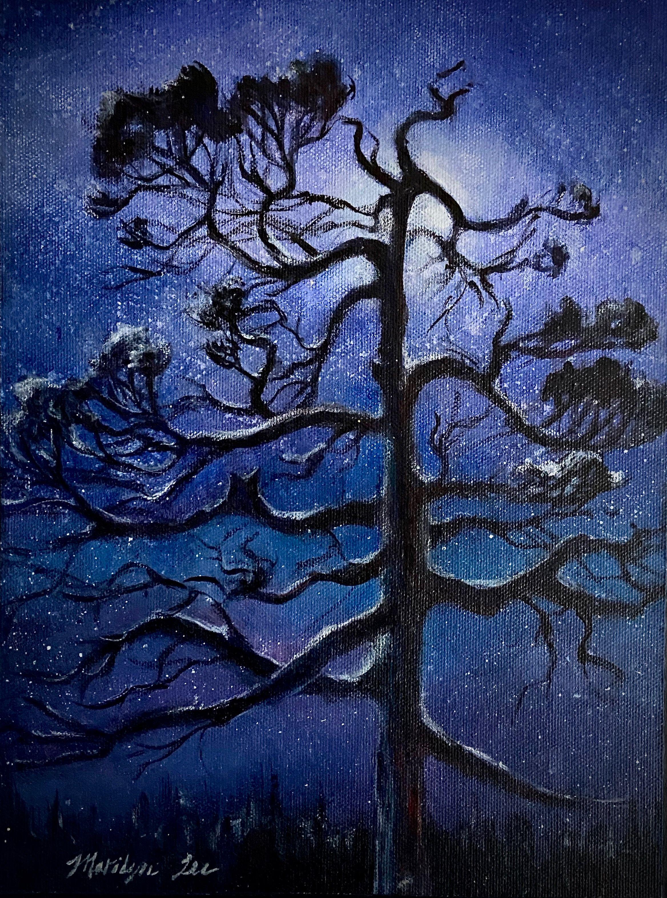 "Marilyn Lee - ""Bull Pine, Gravina Island"""