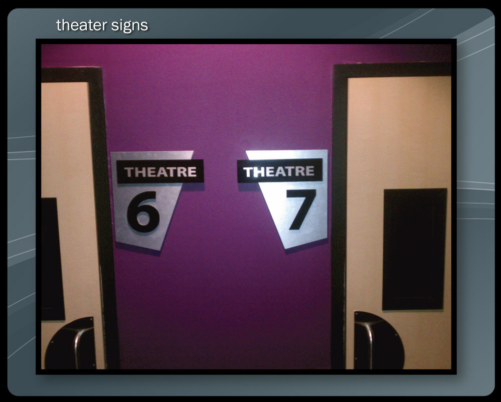 THEATER SIGNS