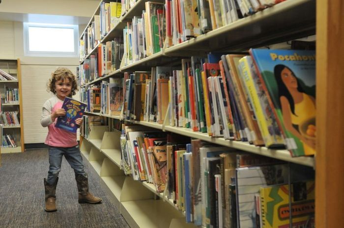 Children's Collection in use