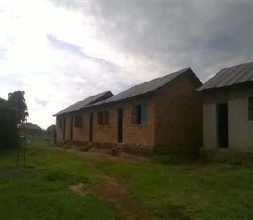 Classroom blocks at Nkurungiro School