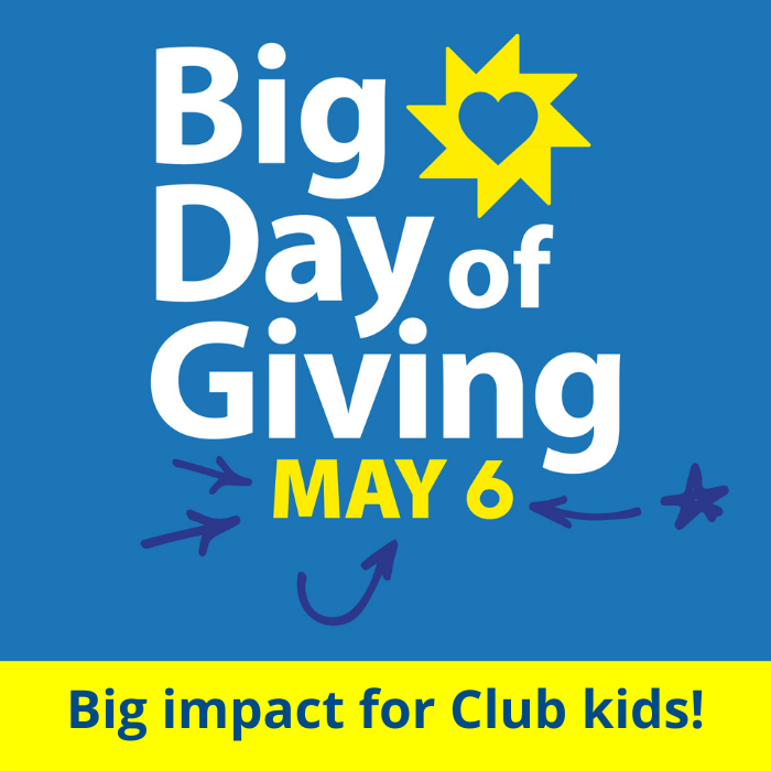 Big Day of Giving - Save the Date!