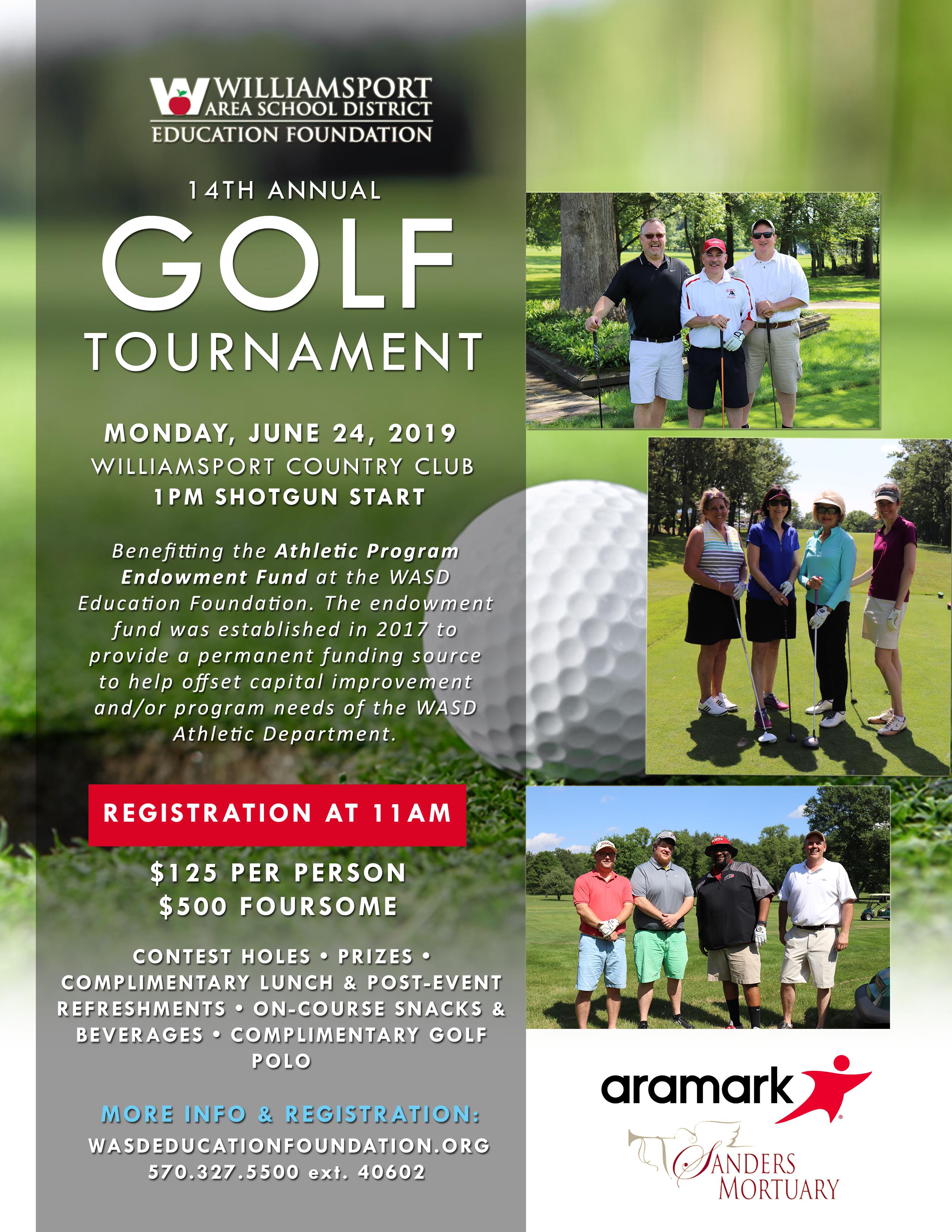WASDEF Announces 14th Annual Golf Tournament Event Details