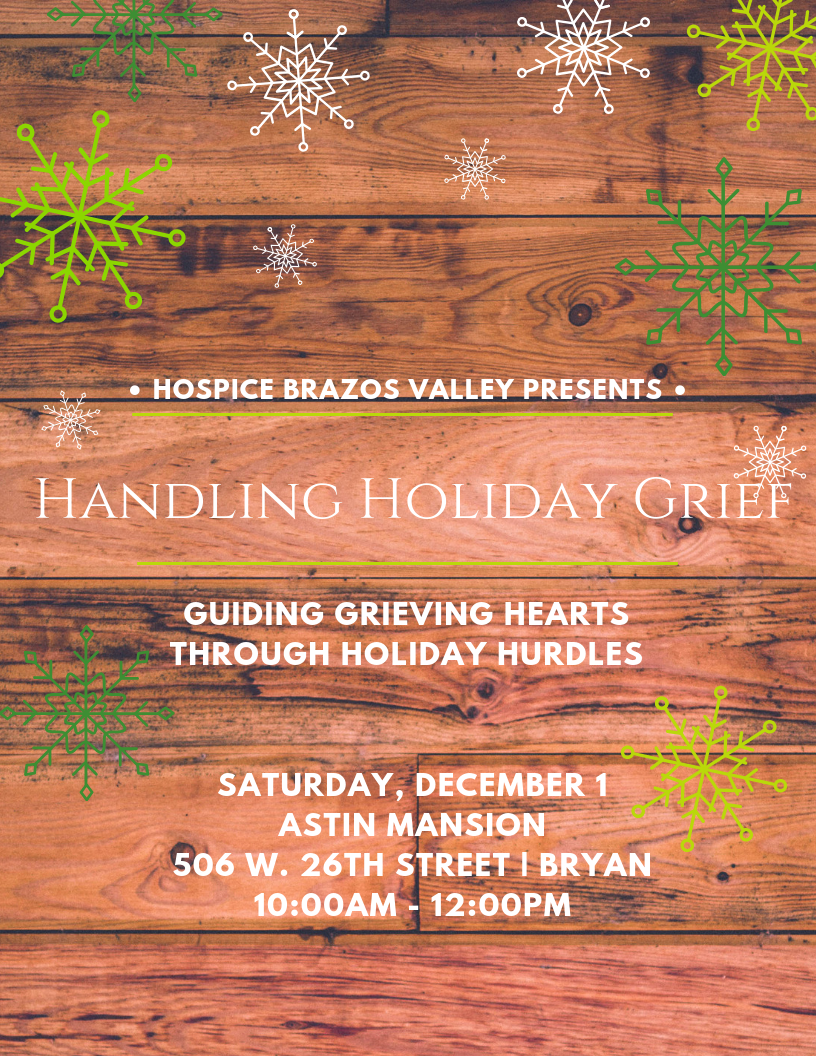 Handling Holiday Grief  Holiday Grief Support