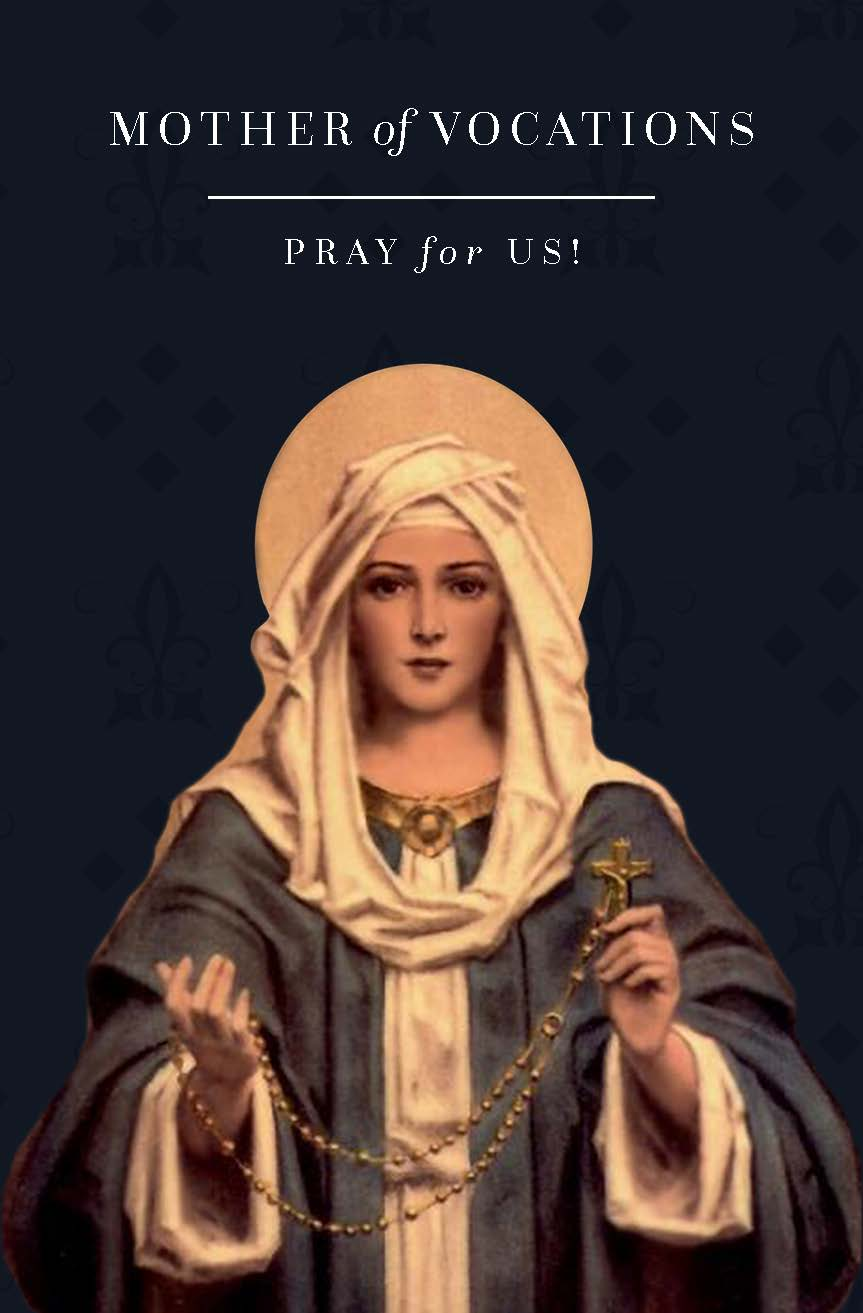 Mother of Vocations Prayer Card