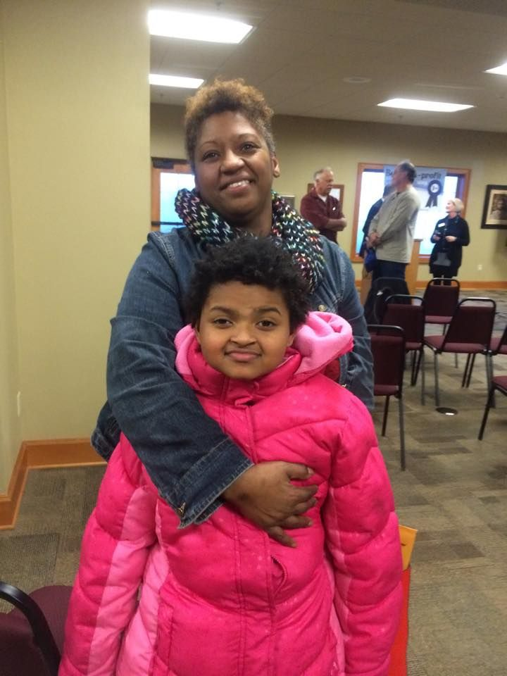 Eula Cook and her granddaughter Brielle