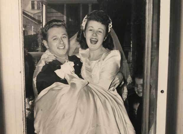 'Nine Yanks and a Jerk' and a Wedding Dress