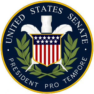 U30106 - Carved 3D Seal for the President Pro Tempore of the US Senate