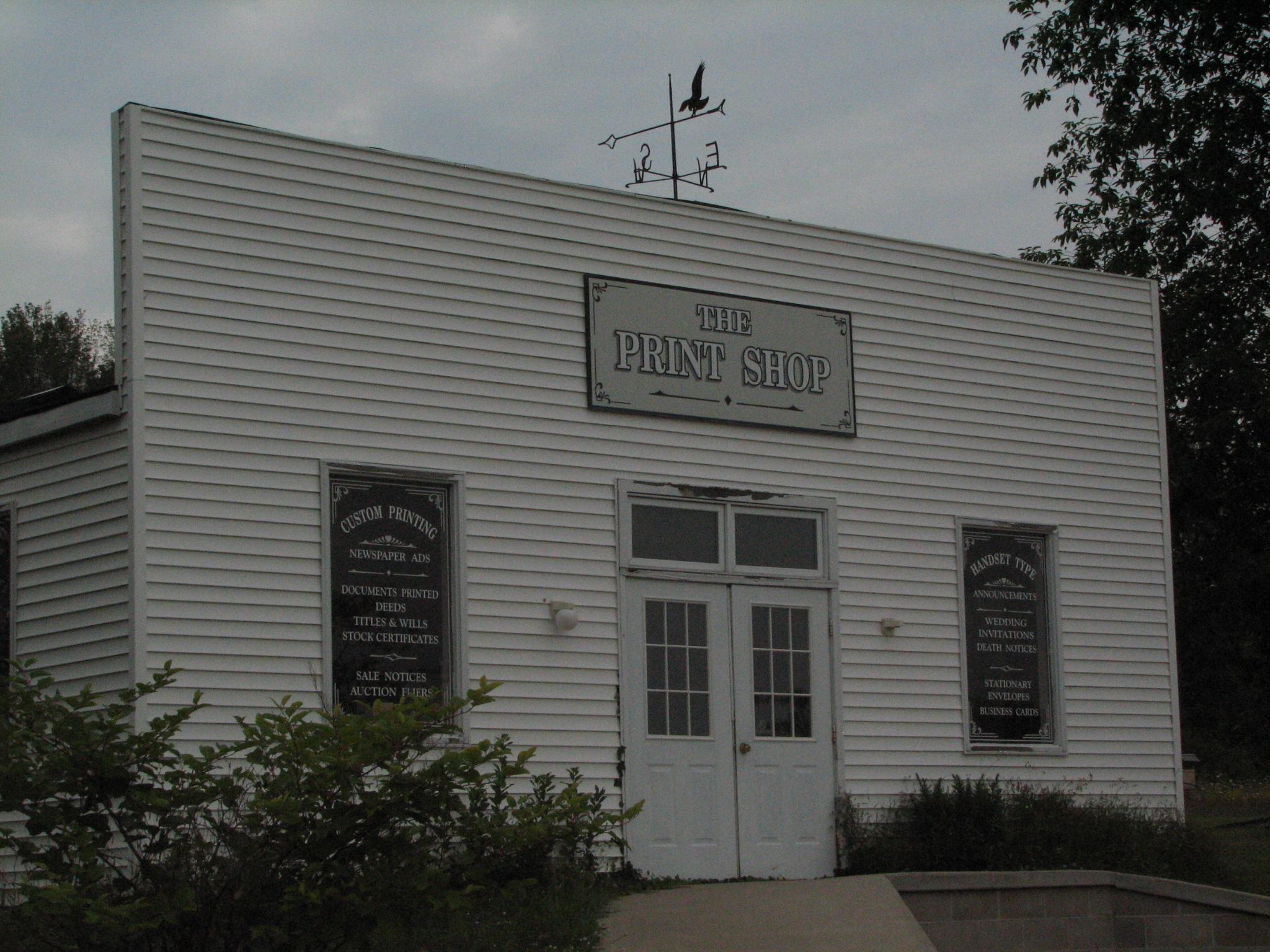 Print Shop and Studios