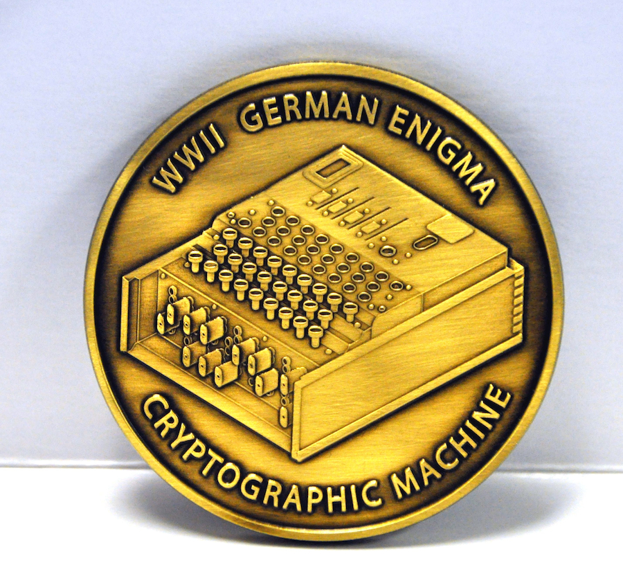National Cryptologic Museum Foundation Commeorative Coin