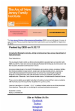 9.13.17 - Update From DDD: The Division is extending the enrollment deadline for PPP/DDD SDE Option dual enrollees