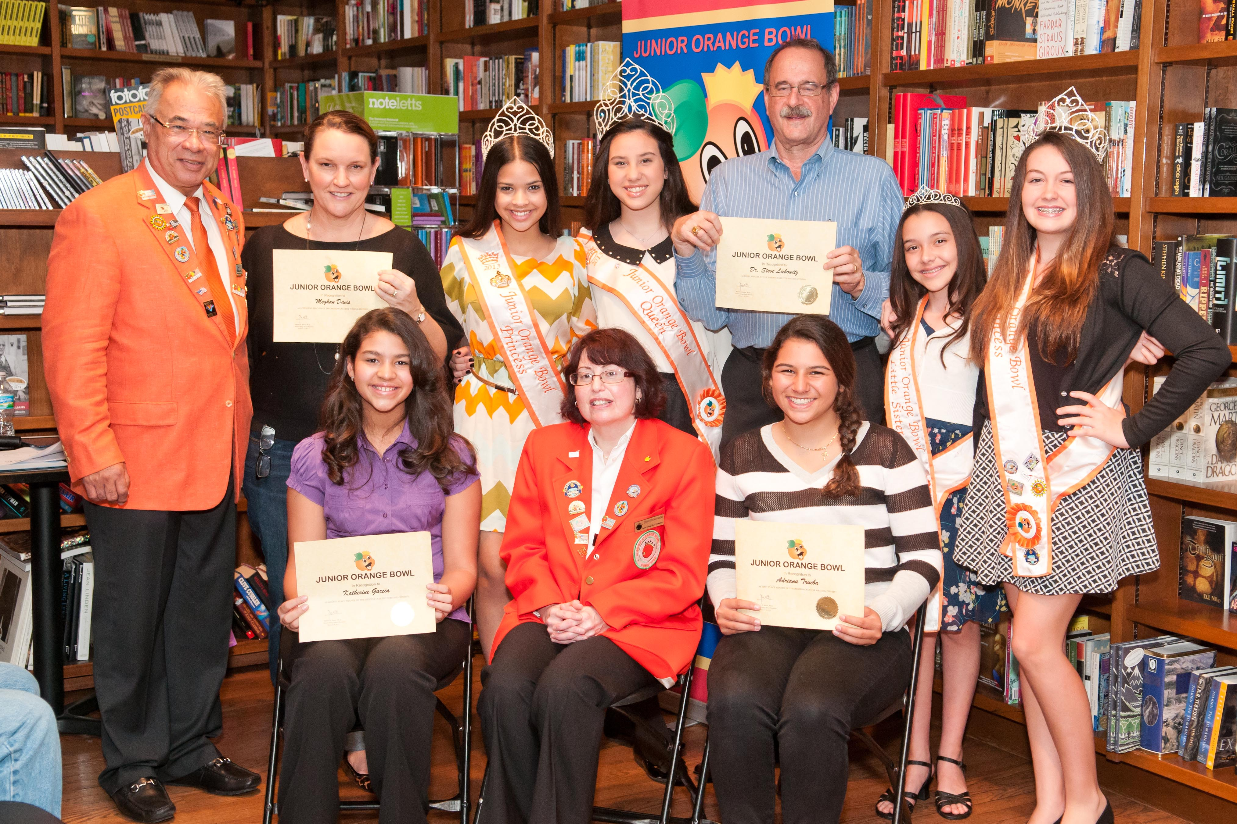 Jr Orange Bowl Creative Writing Contest 2020