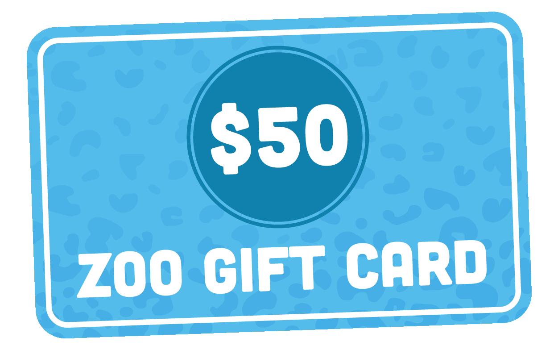 $50 Zoo Gift Card