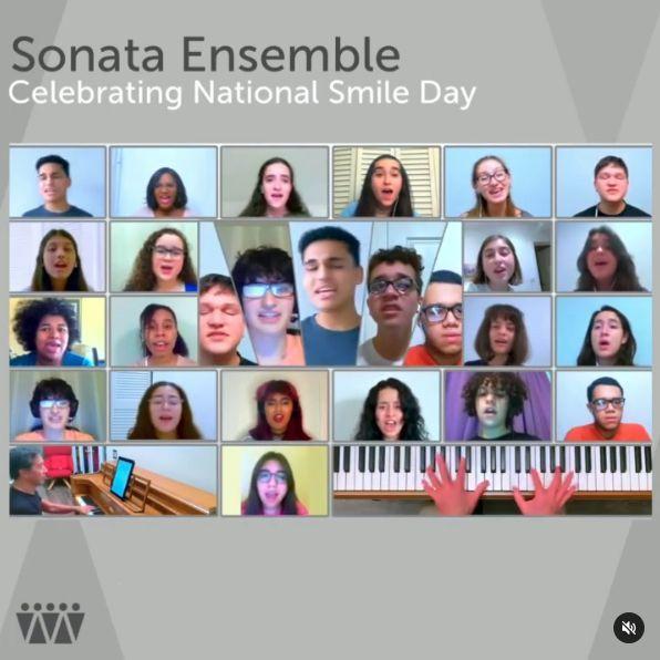 Celebrating National Smile Day with MCC's Sonata Chorus
