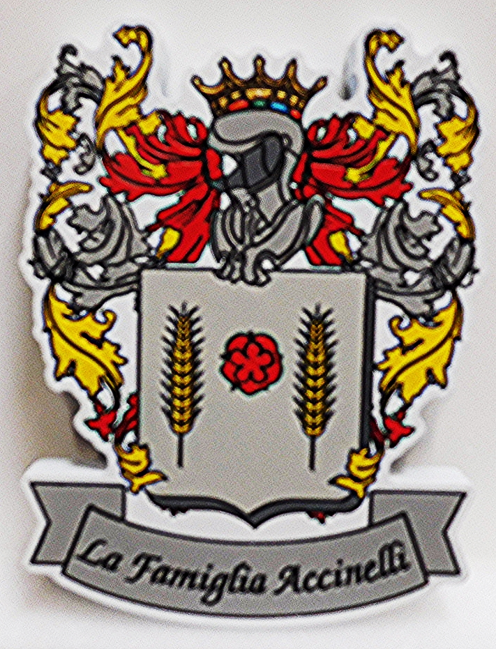 XP-3280 - Carved Plaque for Coat-of-Arms for  La Famiglia Accinelli