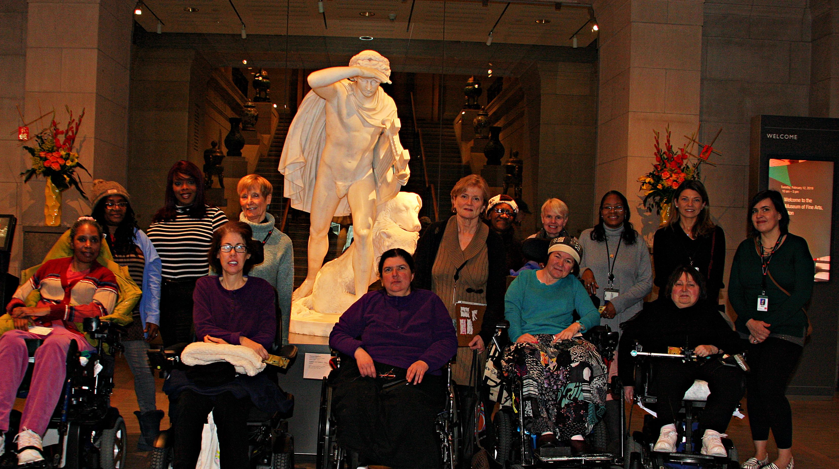 B'Fit Members Visited Museum of Fine Arts - Ansel Adams Exhibit