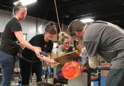 RESCHEDULED TO TBD- Day Trip with BRAHM: Glassblowing Workshop & Pottery Center Tour