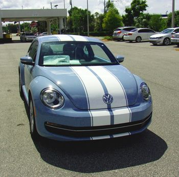 Volkswagen Custom Stripes